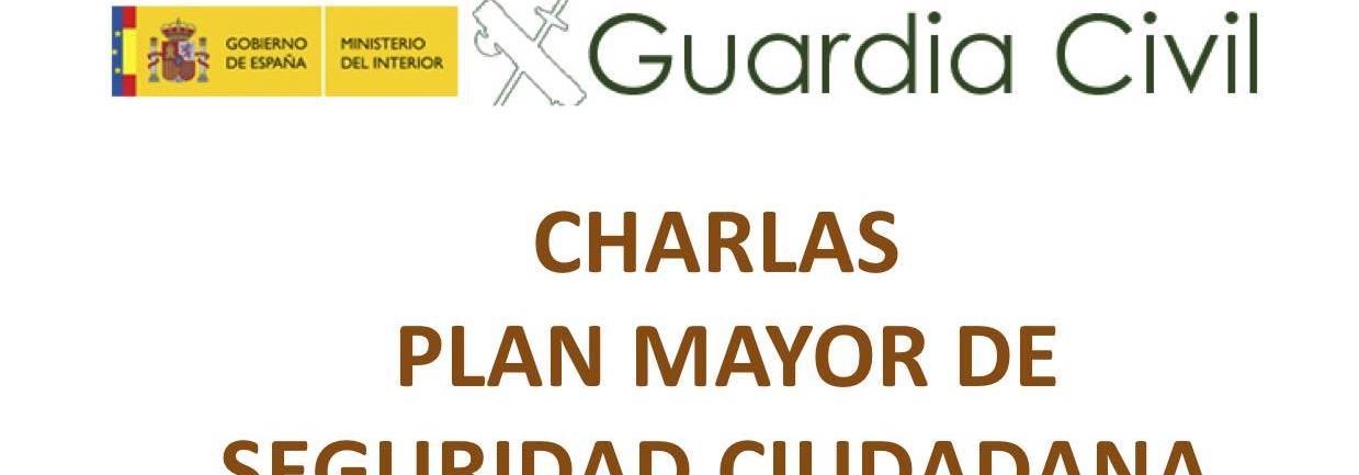 Charlas Plan Mayor de Seguridad Ciudadana