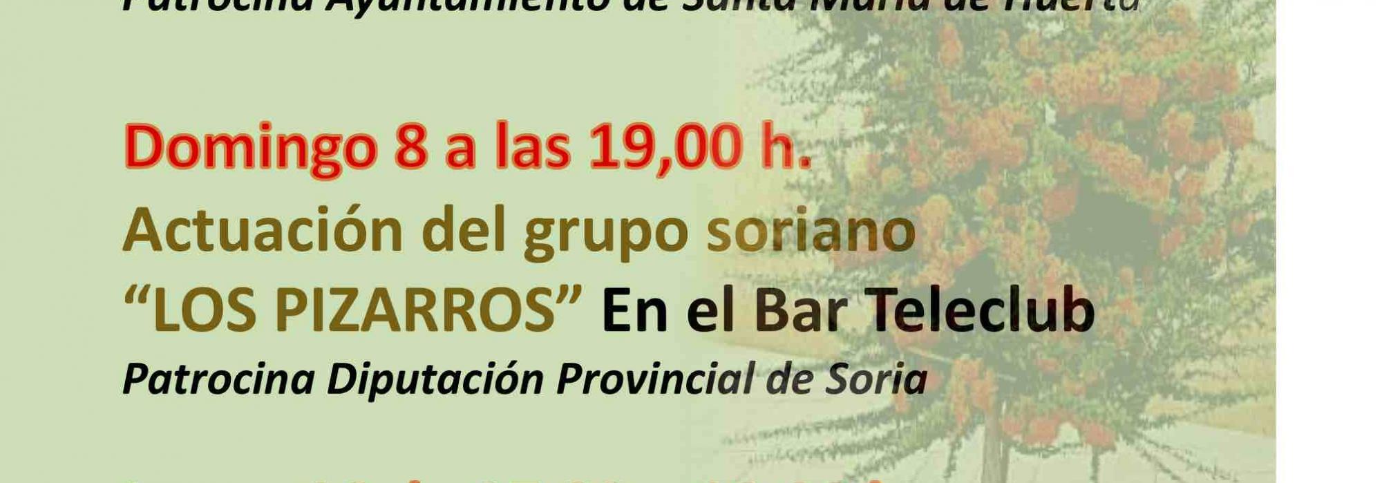 Dic.2019-Actuación grupo Los Pizarros en Santa María de Huerta